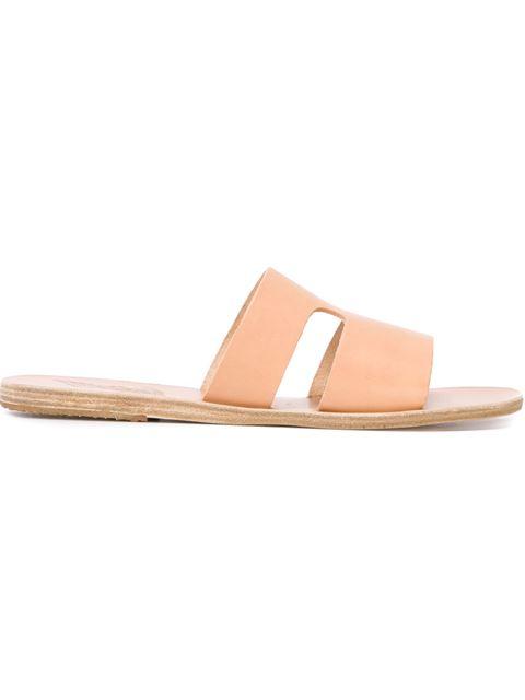 Natural Apteros Sandals, Nude & Neutrals