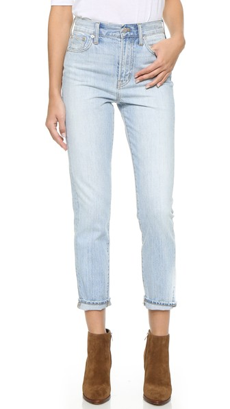 'Perfect Summer' High Rise Ankle Jeans (Fitzgerald Wash)