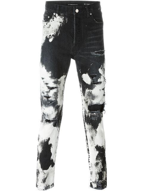 Black V Punk skinny jeans Valentino oUYnJnacc