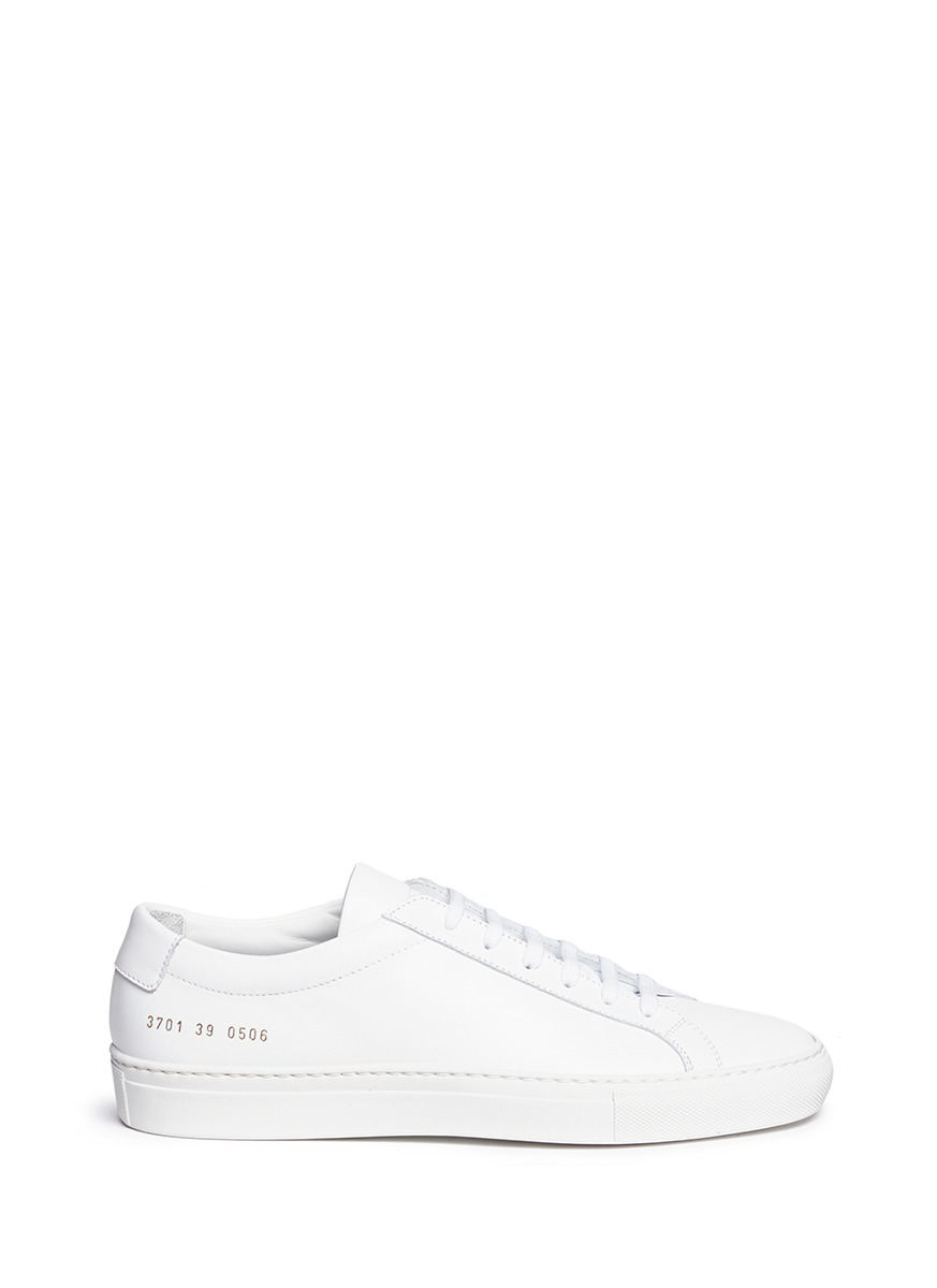 'Original Achilles' Leather Sneakers, White