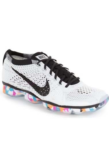 on sale e26bd a1e39 ... get nike women. nike. womens flyknit zoom agility training sneakers  from finish line white