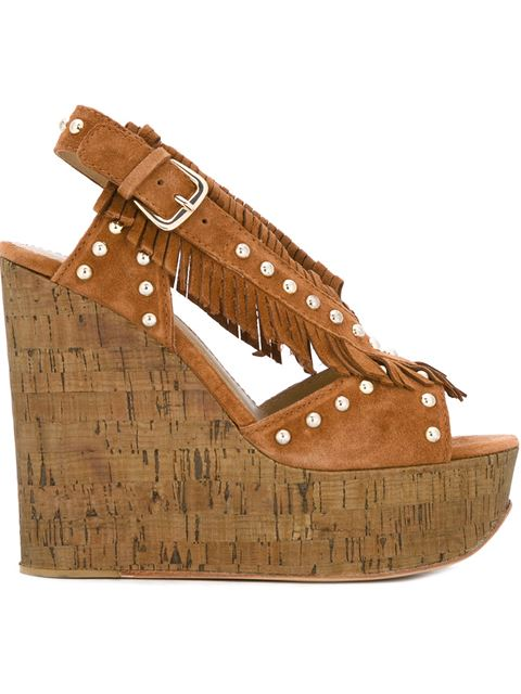 Sandals in Brown from yoox.com