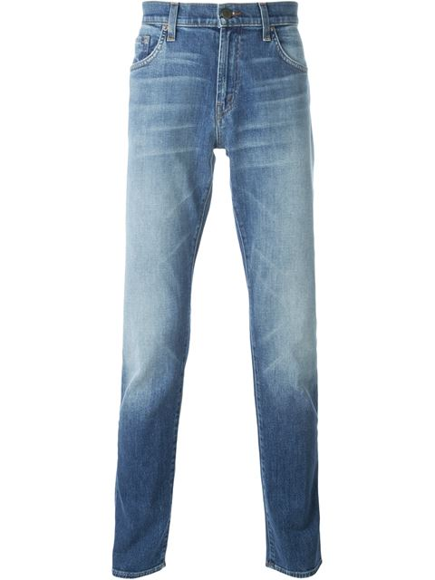 Mick Super Skinny Fit Jeans In Cascade in Blue