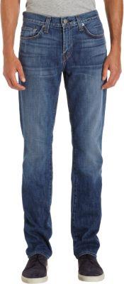 J BRAND Men'S Tyler Slim-Fit Pima Cotton Jeans, Hammerhead in Blue