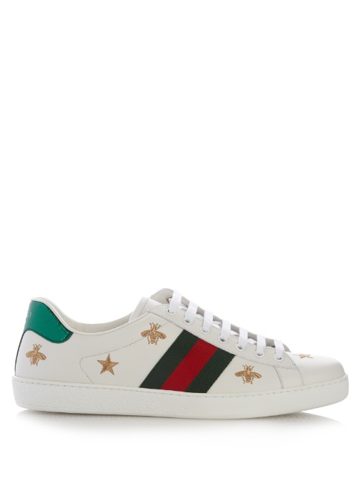 Ace low-top leather trainers Gucci tdsISHLCh