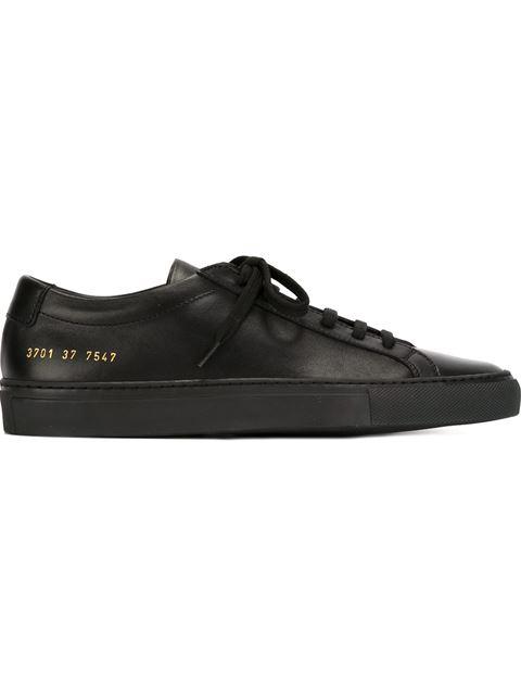 Original Achilles Nappa Leather Sneakers, Black