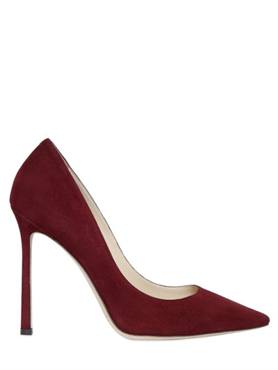 Buy Cheap Discount Jimmy choo 100MM ROMY SUEDE PUMPS Order Sale Online 2018 Discount Cheap Outlet Locations Cheap Sale For Cheap slVLyqVi
