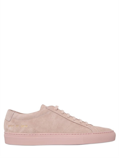 Original Achilles Low-Top Leather Trainers in Pink