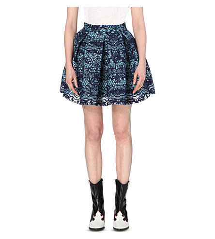Maje Lace Mini Skirt Clearance From China Qr1wZ9JvfC