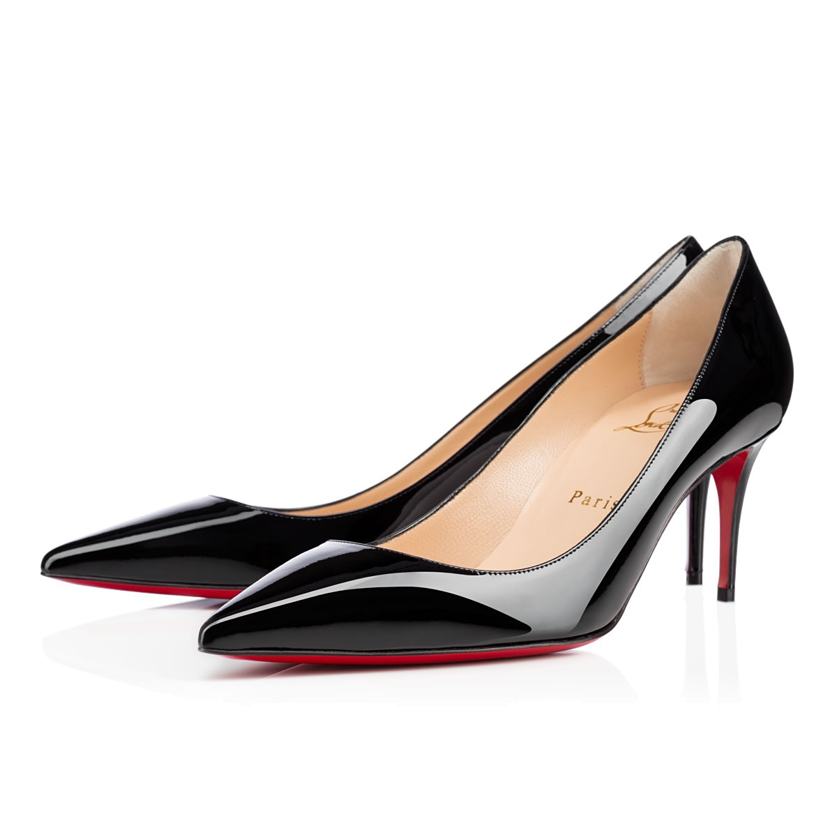 20b2bc1d214f Christian Louboutin Decollete Pointy Toe Pump In Black