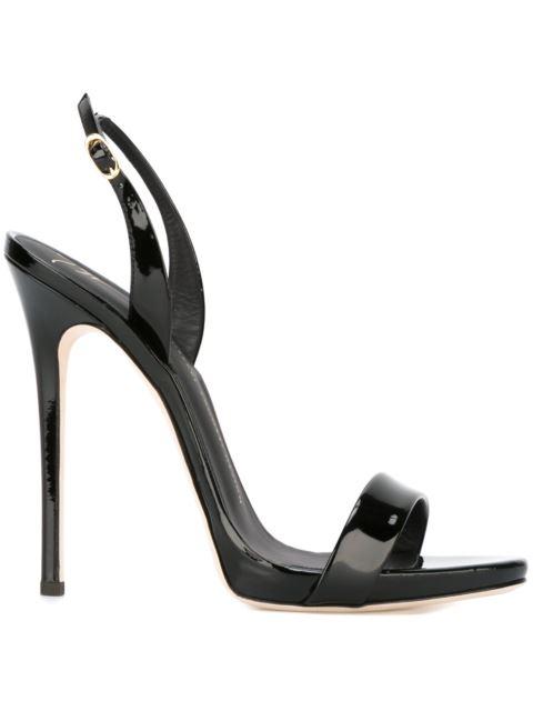 sling back sandals - Black Giuseppe Zanotti bMys2qP7