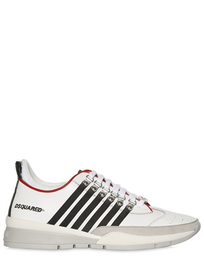 striped sneakers - Black Dsquared2 D272um