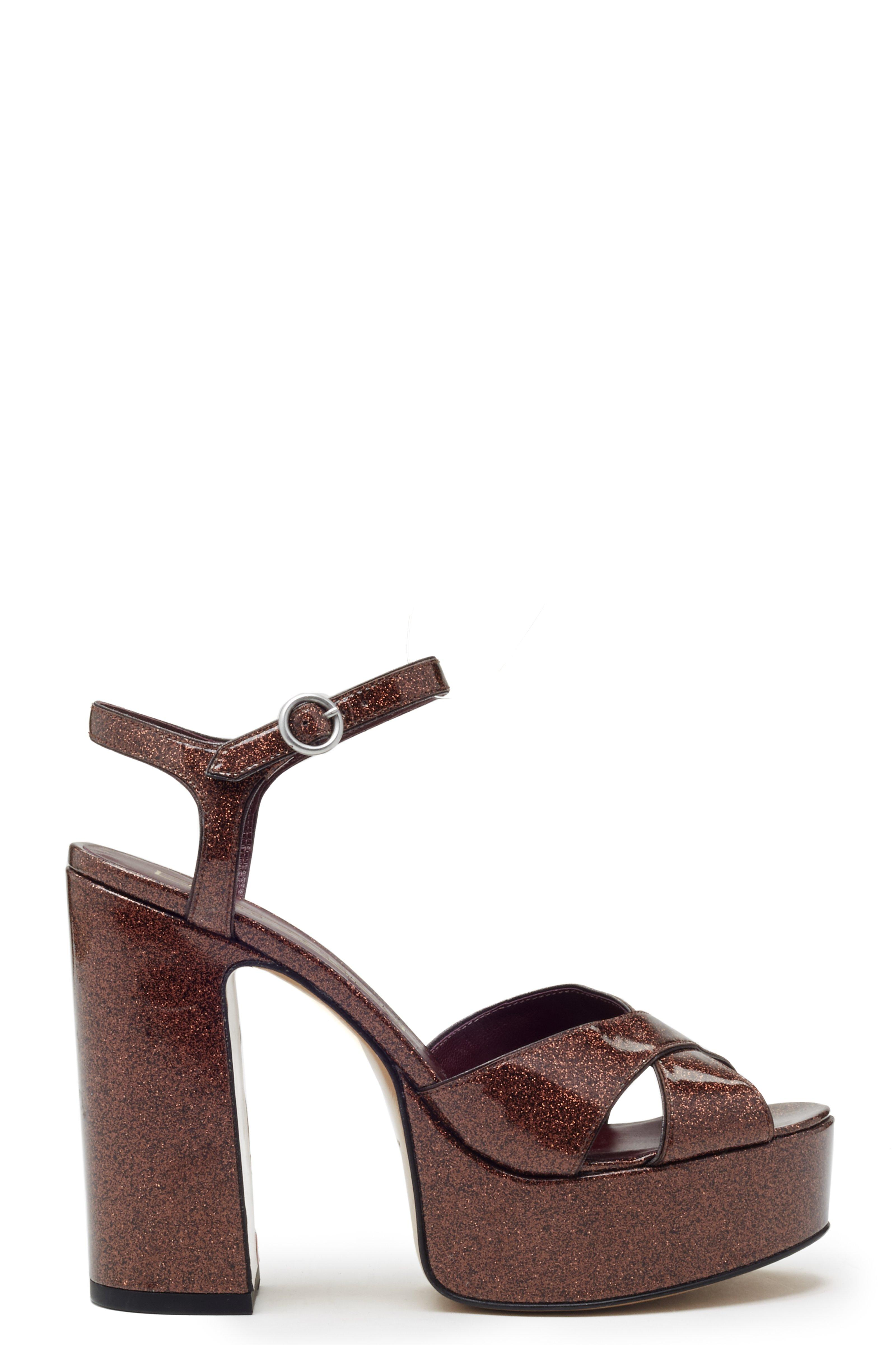 New Clearance Sast Marc Jacobs Leather Platform Sandals Outlet Professional Cheap Ebay Top Quality fjXfs9u