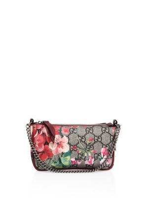 e55da8f1843 GUCCI Gg Blooms Mini Chain Bag