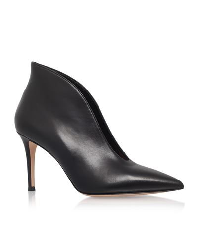 Exclusive To Mytheresa.Com - Vamp 85 Leather Ankle Boots in Black
