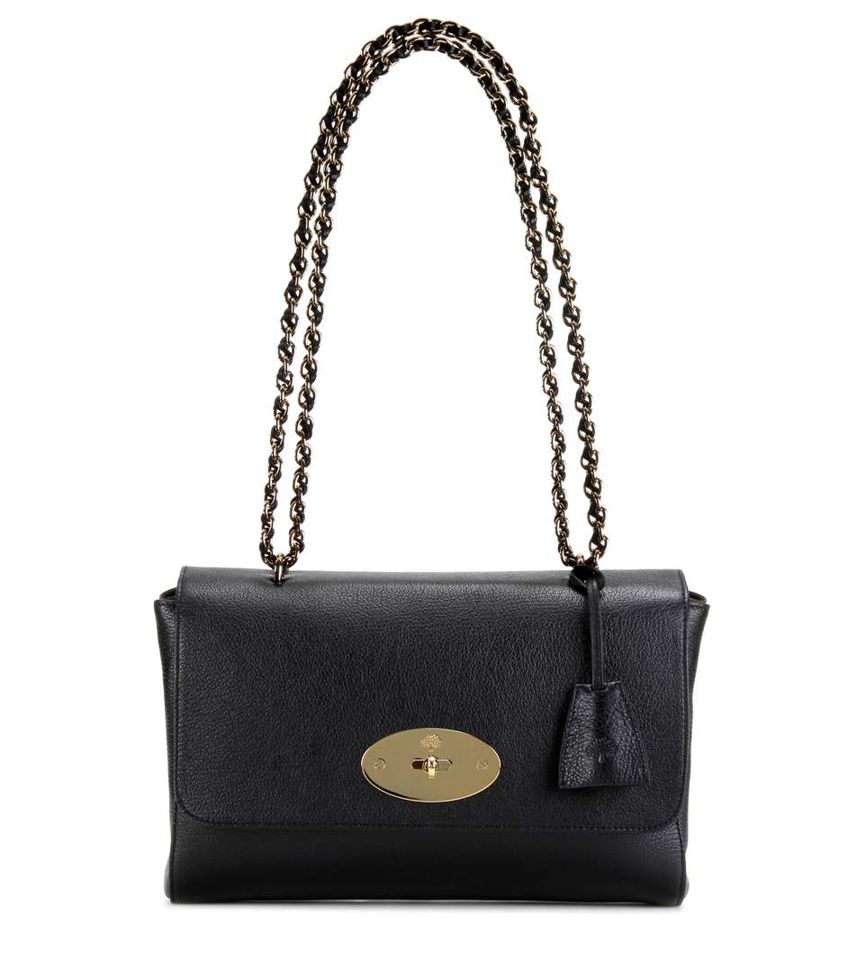 Mulberry Medium Lily Leather Shoulder Bag In Llack   ModeSens 5988585bf1