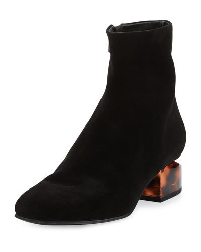 Alexander Wang Suede Round-Toe Booties Newest Sale Online Buy Cheap Price Sale Latest Collections Ost Release Dates With Paypal Cheap Online n3ulx