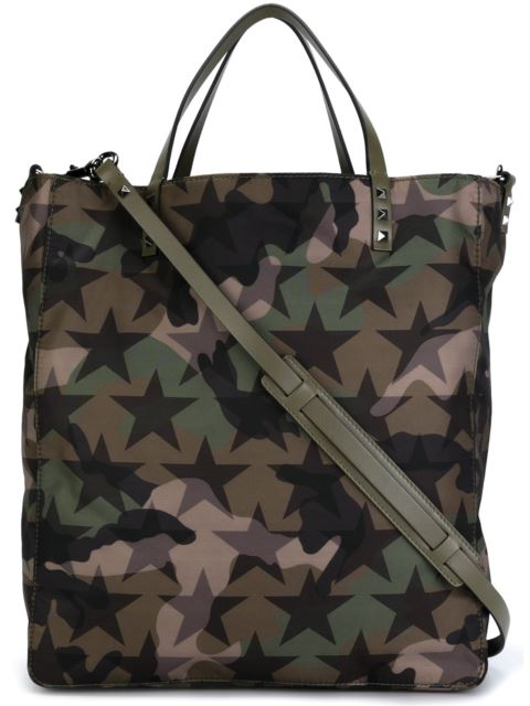 f065a20efd9 Tote Valentino Green Camostars Military ModeSens pqnCqxtwr5