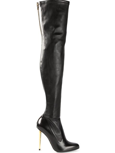 Tom Ford Over-The-Knee Stretch Boots