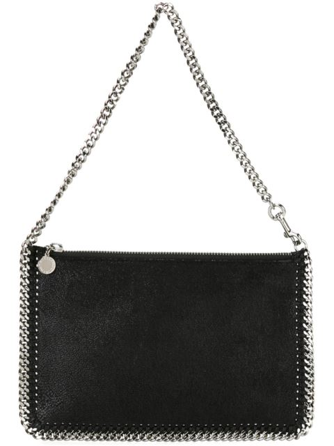 Falabella Purse Black Shaggy Clutch