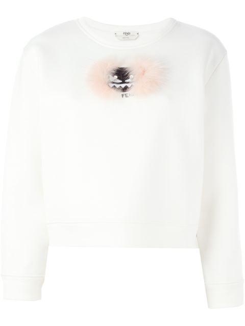 'Wonders' Sweatshirt in White