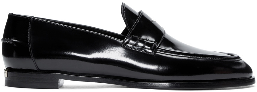 classic penny loafers - Black Burberry LS2zrTf4Y