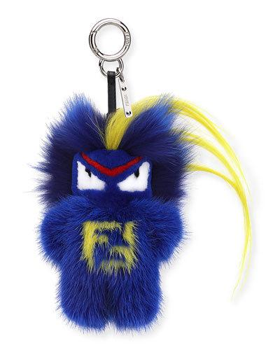 Rumi Micro Monster Charm, Blue/Multi