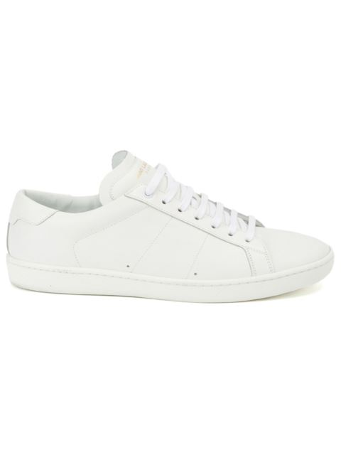 SAINT LAURENT Sl/01 Court Classic Sneakers In Off White Leather