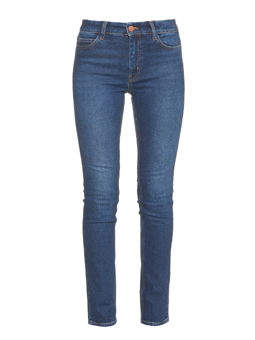 MIH Jeans Mid-Rise Straight Leg Jeans