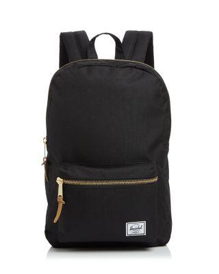 'Settlement Mid Volume' Backpack - Burgundy in Black