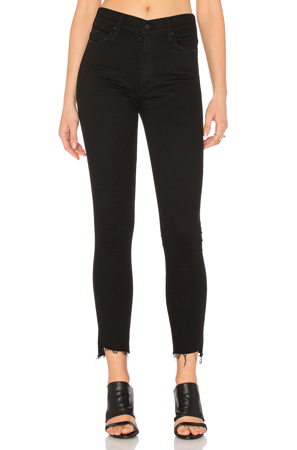 The Looker Ankle Fray Jeans In Hey, Good Lookin', Not Guilty