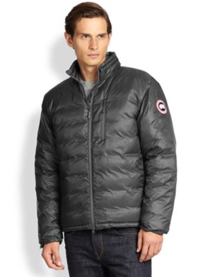 canada goose lodge jacket graphite