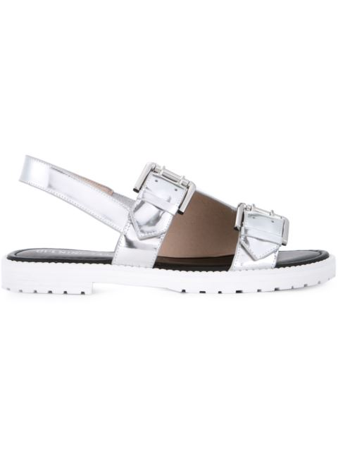 Opening Ceremony 'Mirror' Monk Strap Sandals - Metallic