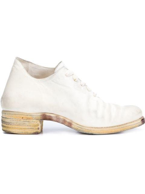 A DICIANNOVEVENTITRE One Piece Lace-Up Shoes in White