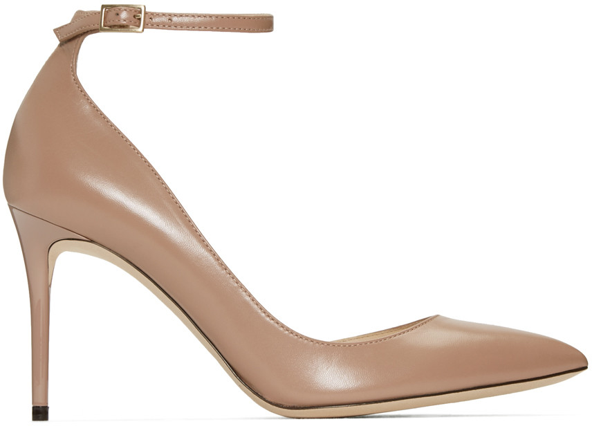 Jimmy Choo Lucy 85 Pompes - Gris cDhL9