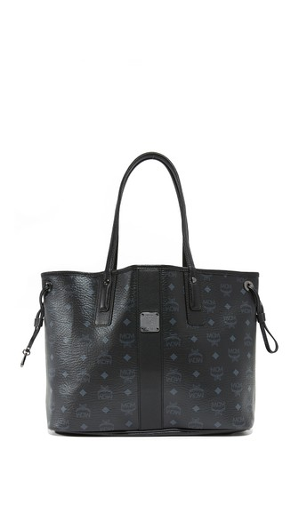 Black Shopper Project Visetos Liz Reversible Medium Tote