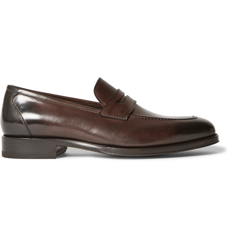 Wessex Leather Penny Loafers Tom Ford Outlet Visa Payment Cheap Sale With Mastercard Clearance Low Cost Aaa Quality hrlUu