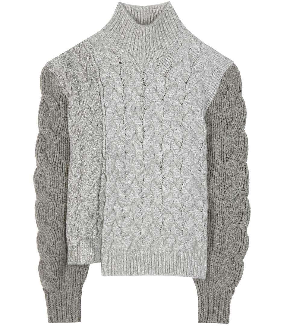 Stella McCartney Wool Cable Knit Jacket