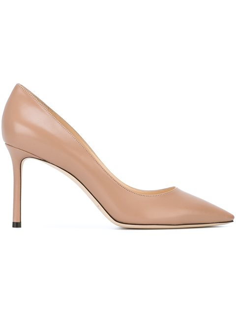Women'S Romy 85 High-Heel Pointed Toe Pumps, Nude & Neutrals