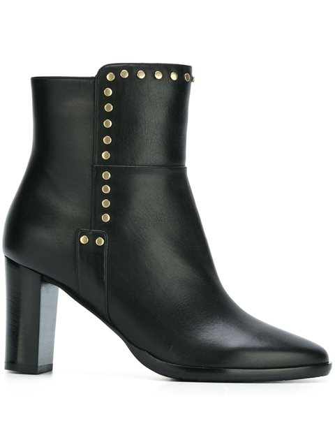 Jimmy Choo Harlow 80 Boots - Black