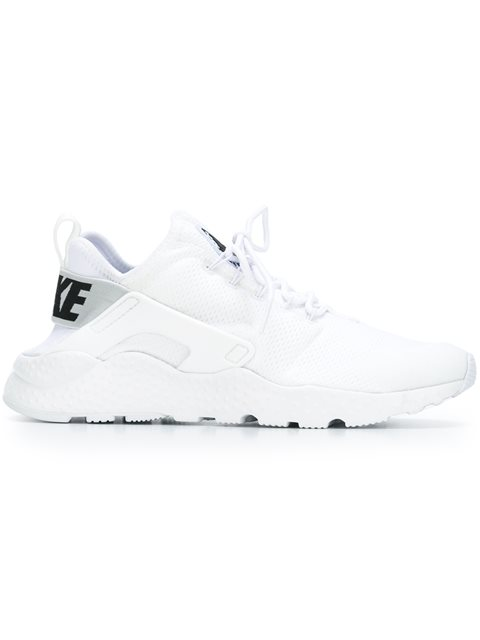 Women'S Air Huarache Run Ultra Running Sneakers From Finish Line, White
