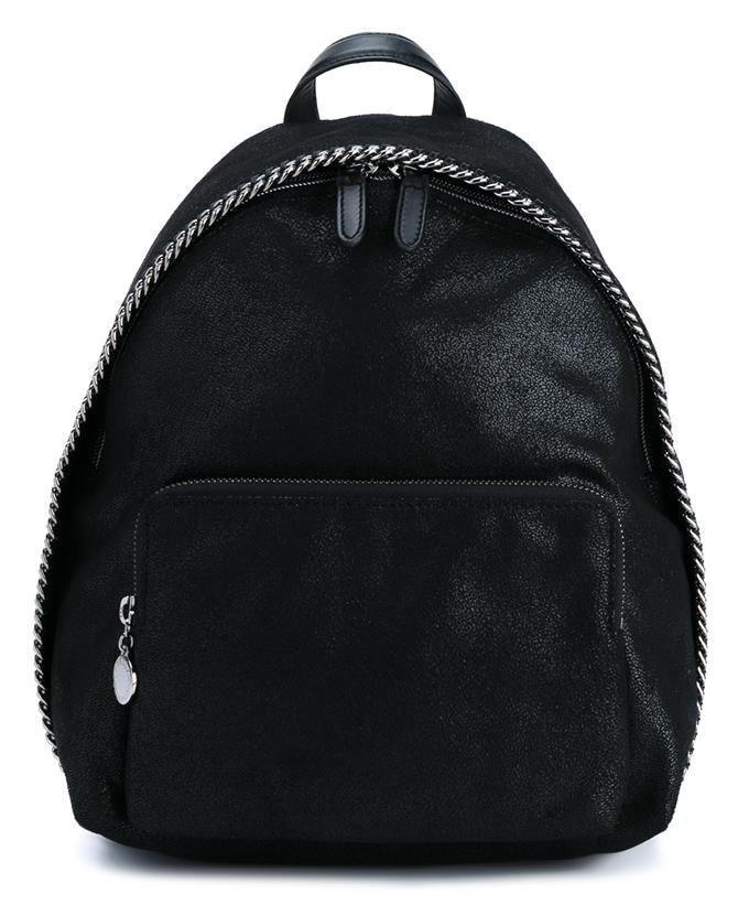 8512873e9d Stella Mccartney Falabella Shaggy Deer Faux Leather Backpack In Black