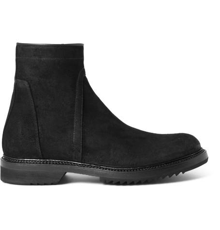 Rick Owens Suede Platform Ankle Boots Gr. IT 40 GuQLOr5vRW