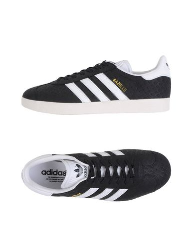 Adidas Men'S Gazelle Sport Pack Casual Sneakers From Finish Line in Black from ASOS