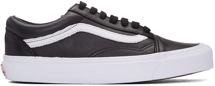 Black Og Old Skool Lx Vl Sneakers, Black Canvas