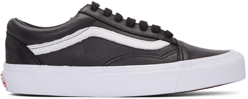 Black Og Old Skool Lx Sneakers, Black & Blanc De Blanc