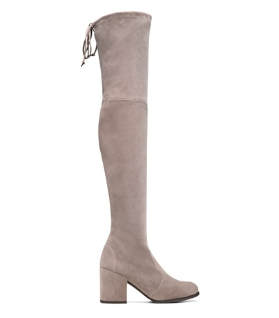 The Tieland Boot, Taupe Suede