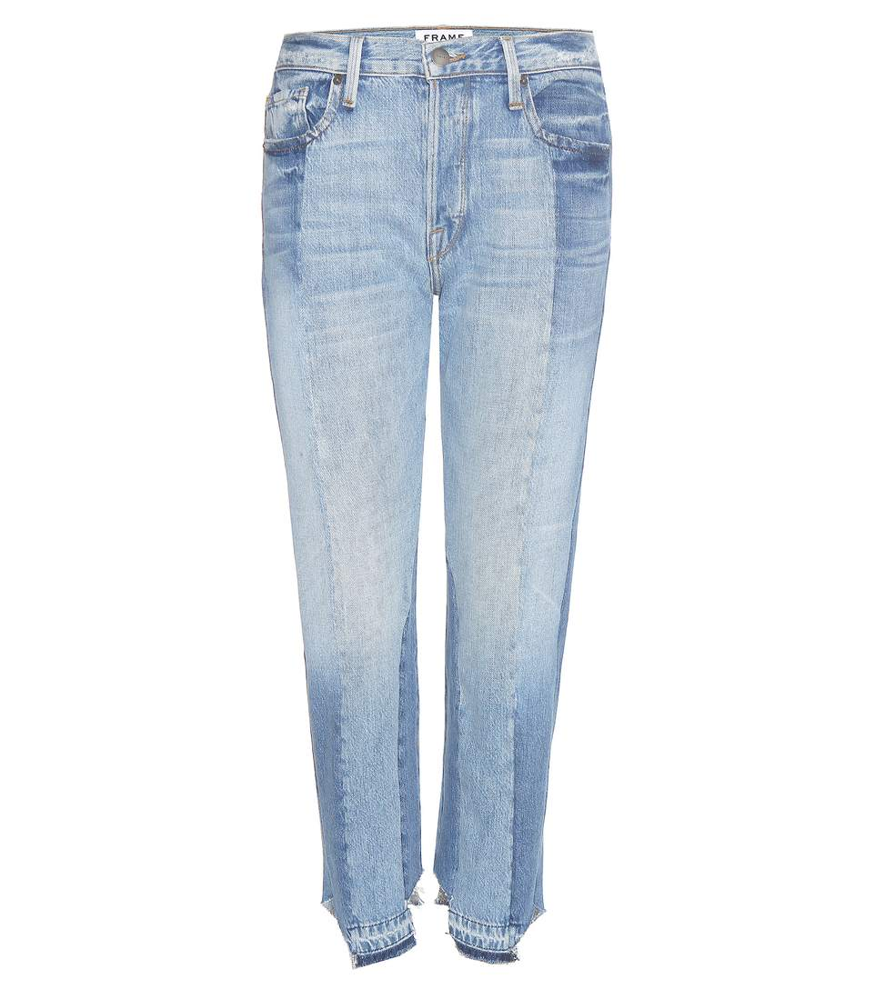 'Nouveau Le Mix' One Of A Kind Jeans in Blue