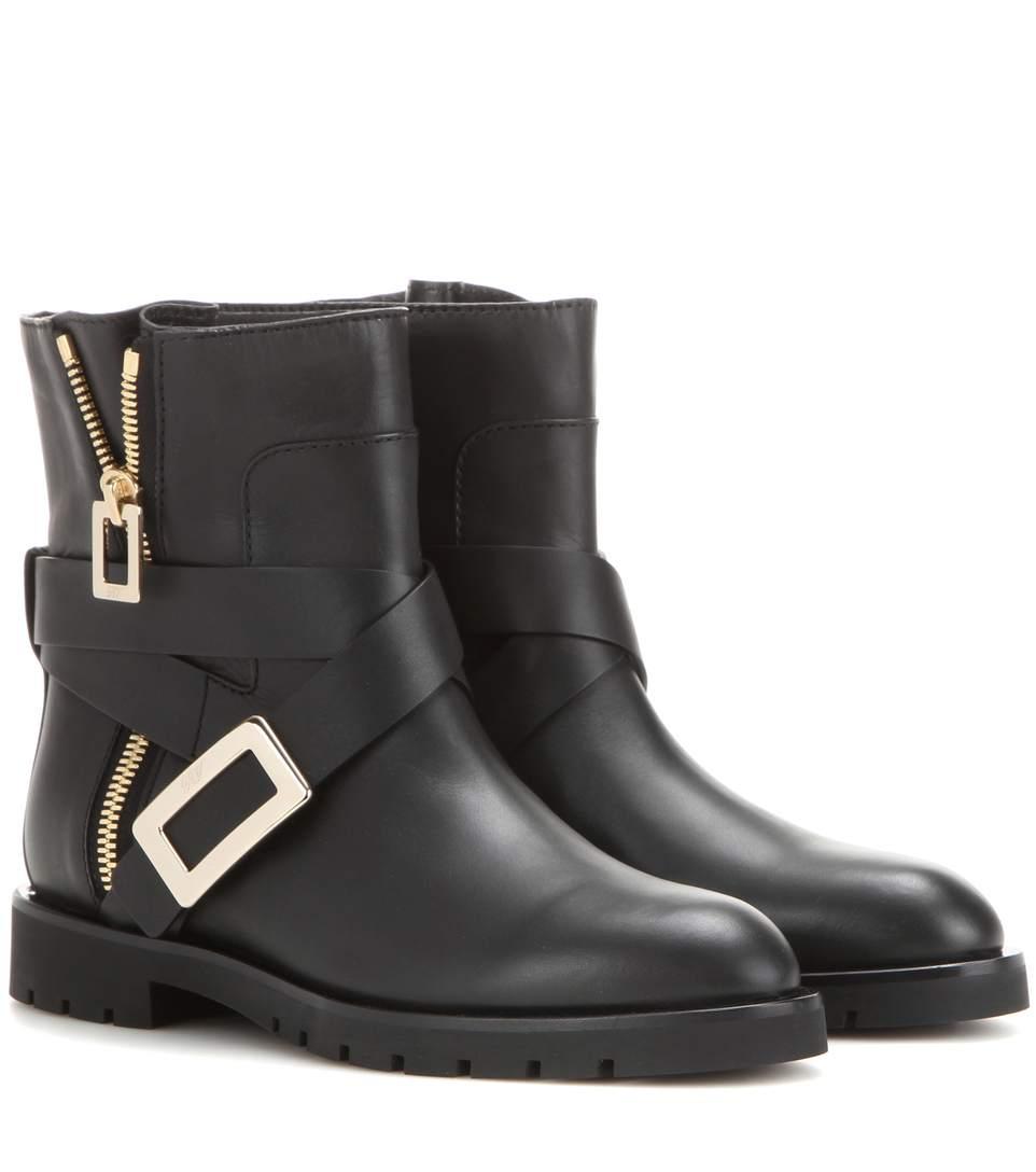 Leather BIKER Boots Spring/summer Roger Vivier hVwpOp6YS