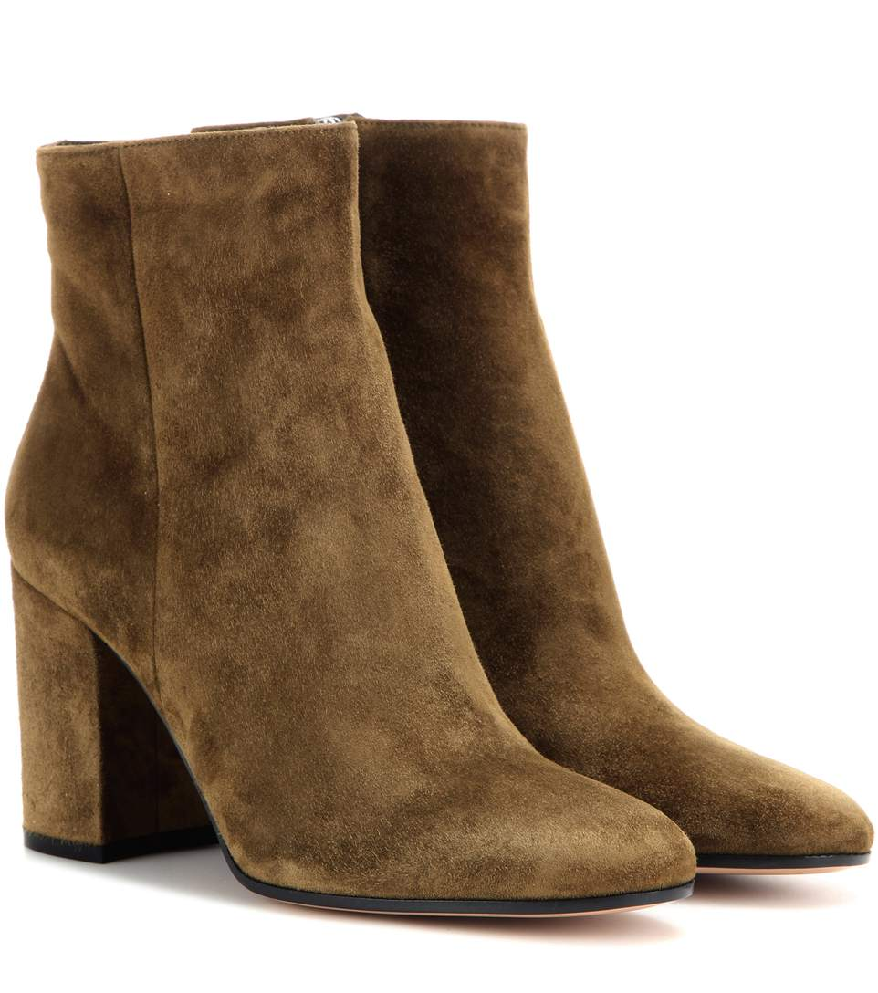 Rolling Suede Ankle Boots - Marais Size 11